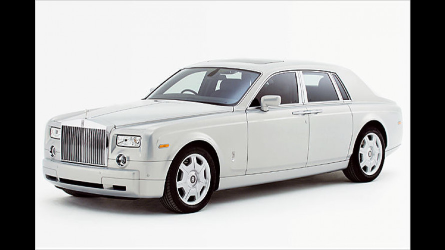 Edel-Edition: Rolls-Royce-Sondermodell Phantom Silver