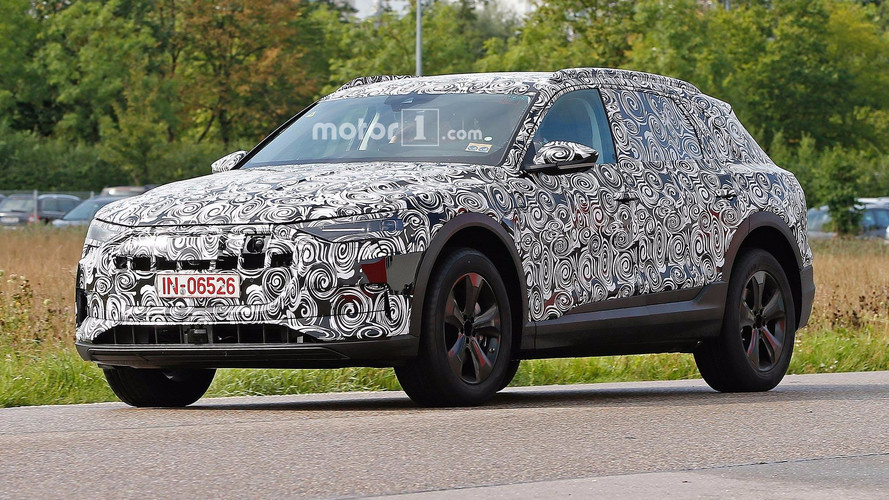 Audi E-Tron Quattro Spied With Sensors For Driver Assists
