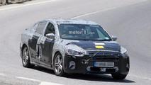 2019 Ford Focus Sedan spy photo