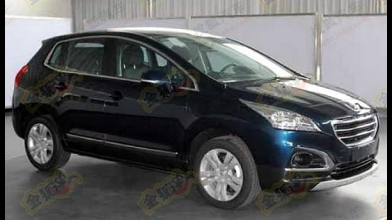 Peugeot 3008 com novidades visuais é flagrado na China
