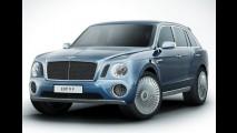 Chega em 2015: Bentley planeja vender 3.000 unidades de seu SUV anualmente