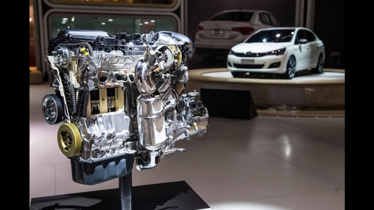 Salão SP: Citroën C4 Lounge ganha motor 1.6 THP Flex de 173 cv