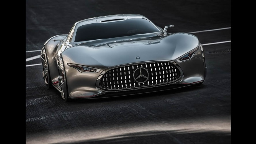 Este é o Mercedes AMG Vision Gran Turismo Concept