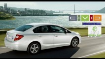 Honda Civic movido a GNV é eleito o carro verde do ano nos Estados Unidos