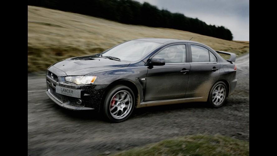 Mitsubishi encerra comercialização do sedã Lancer EVO X no Reino Unido