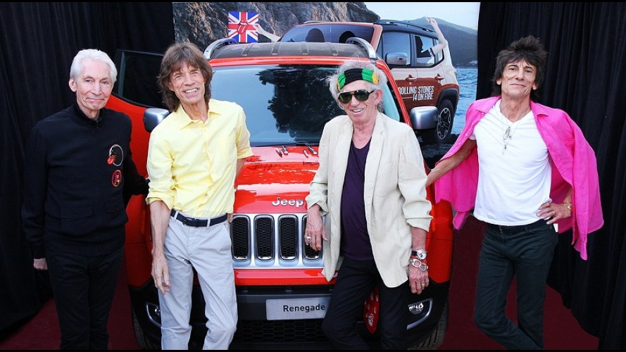 Jeep Renegade autografado pelos Rolling Stones vai a leilão