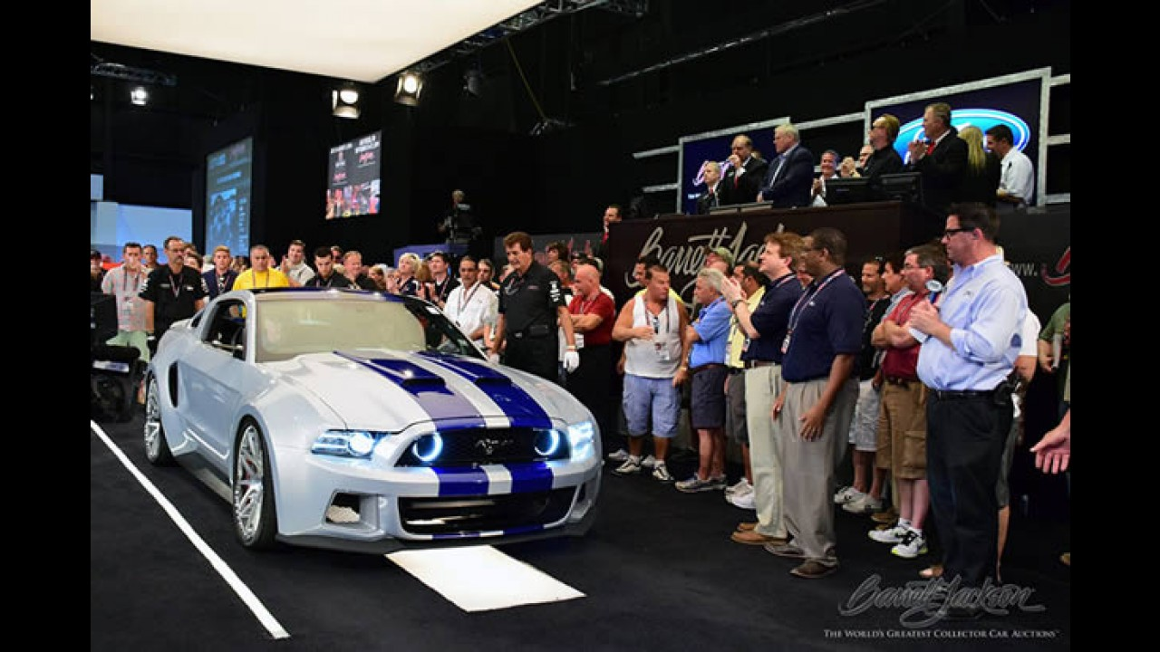 "Mustang do filme ""Need for Speed"" é vendido por US$ 300 mil"