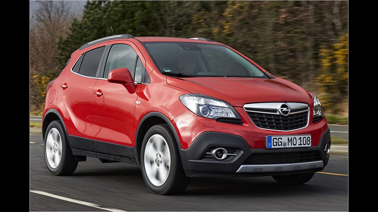 Opel Mokka: 28.630 Neuzulassungen