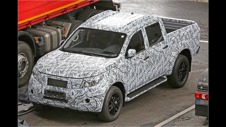 Neuer Pick-up auf Basis des Nissan Navara