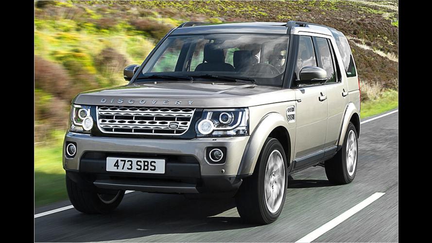 Land Rover macht Disco fein