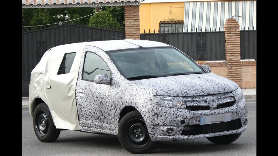 Erwischt: Dacia Logan und Sandero