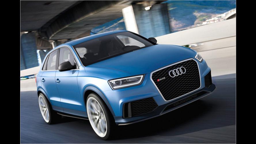 Scharfes SUV: Audi RS Q3 concept