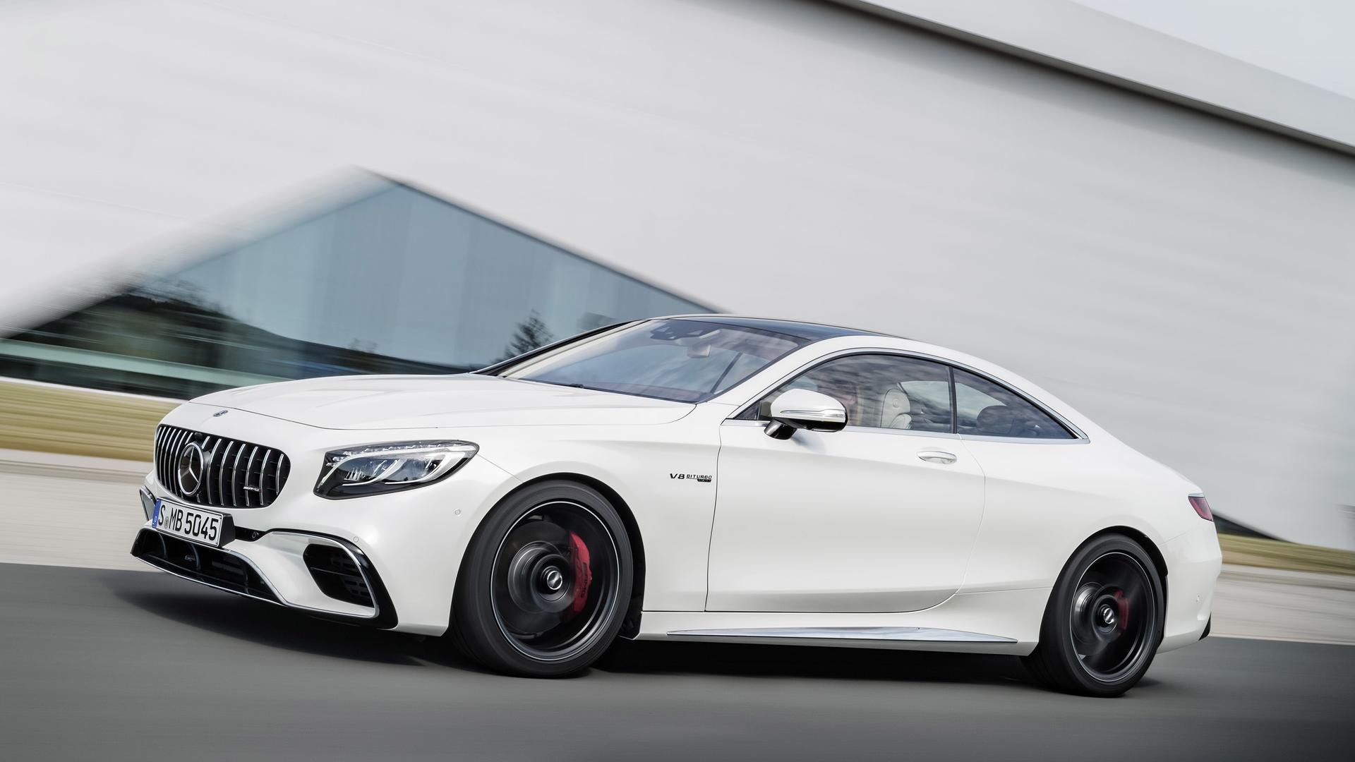 Refreshed 2018 mercedes benz s class for Mercedes benz s class coupe