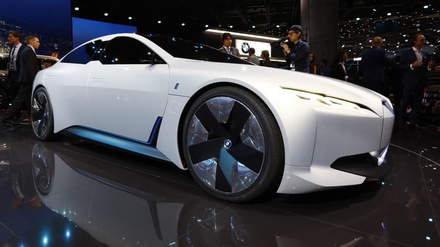 BMW i Vision Dynamics é o irmão elétrico do Série 4 Gran Coupe