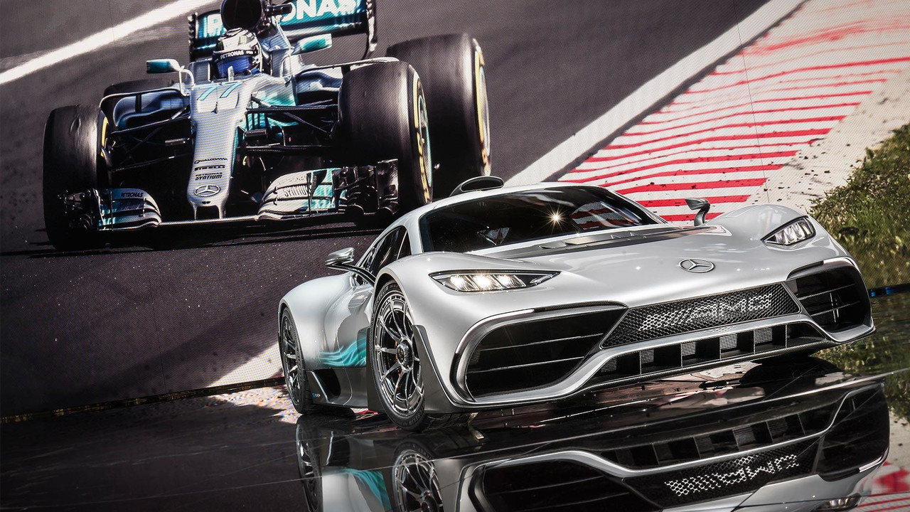 Mercedes-AMG Project One Slider Image