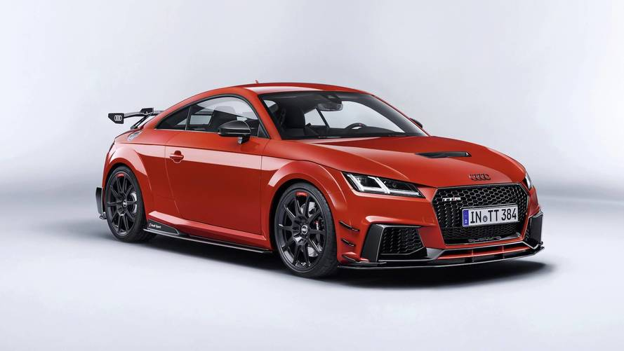 Audi shows off 600bhp TT Clubsport Concept in Vegas