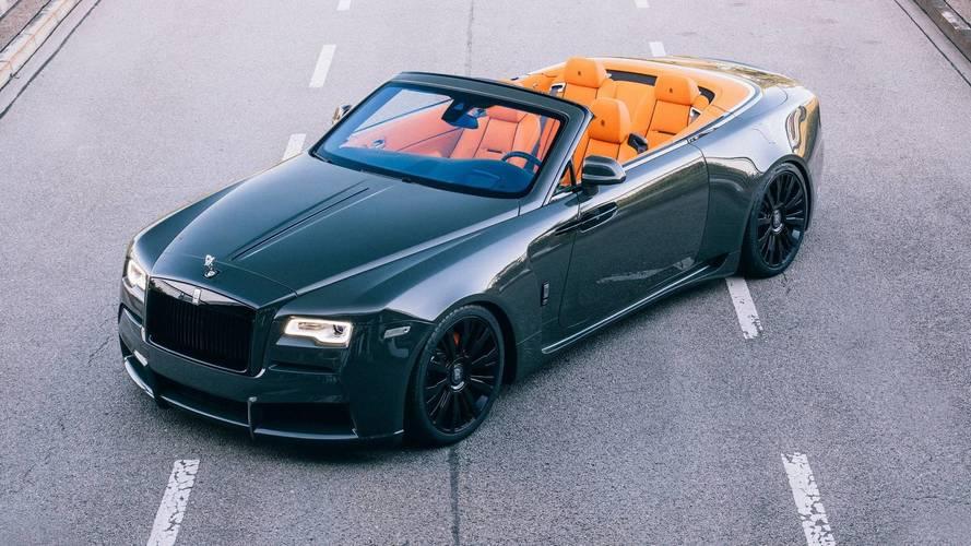Rolls-Royce Dawn'a geniş gövde kiti ve ekstra güç