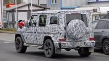 2019 Mercedes-Benz G-Serisi casus fotoları