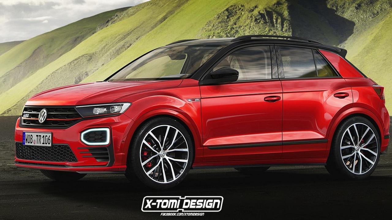 VW T-Roc GTI render