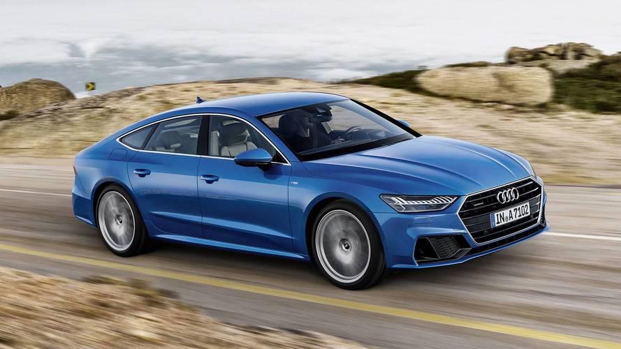 2018 Audi A7 bolca teknoloji ve yeni yüzüyle geldi
