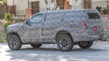 Nissan Navara SUV Spy Photos