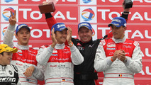 Vincent Vosse's Belgian Audi Club Team WRT win at 2011 Spa 24 Hour