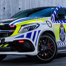 Australia's Fastest Police Car is This Mercedes-AMG GLE