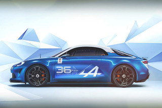 Alpine Celebration 36 Concept Honors Racing Heritage, Past and Present