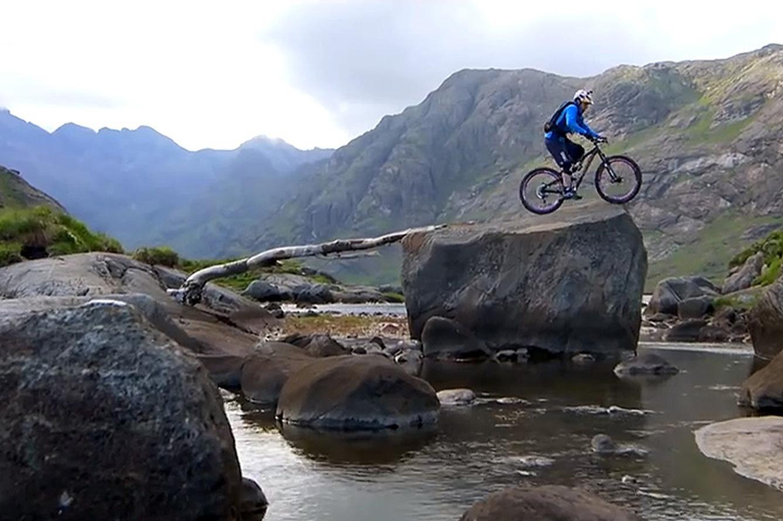 Witness a Death-Defying Scottish Mountain Bike Ride