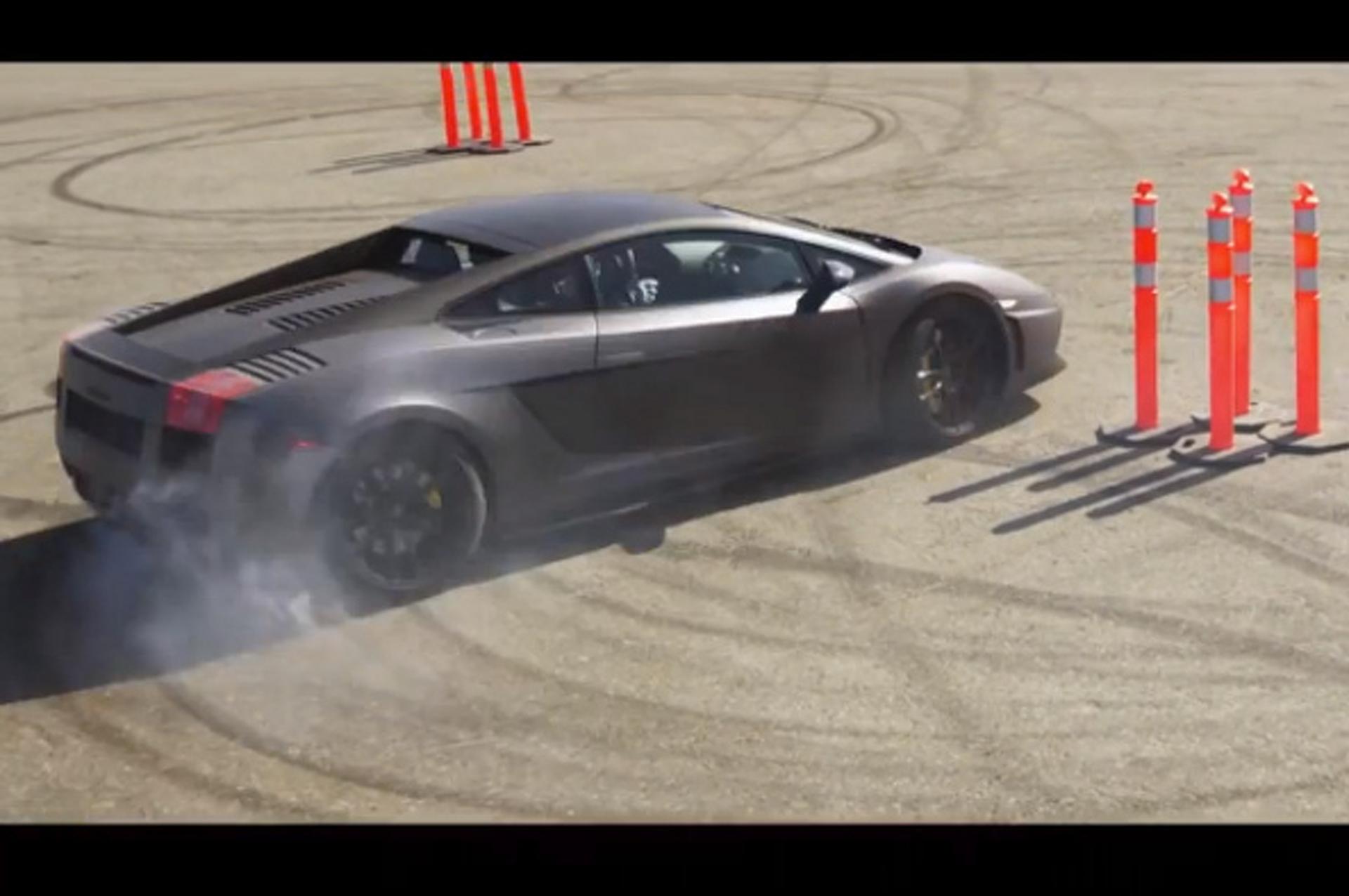 Lamborghini Gymkhana Sounds Just a Little Bit Fun [video]