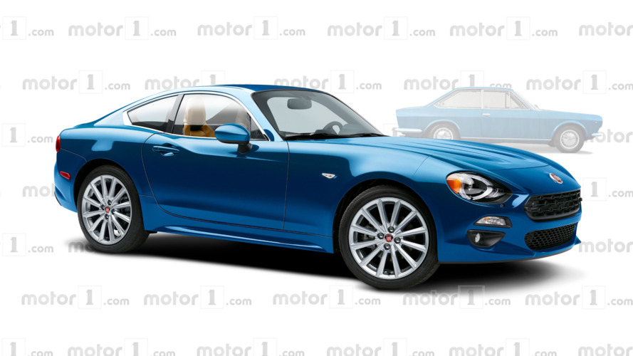 Fiat 124 Coupe coming next year with Abarth power?