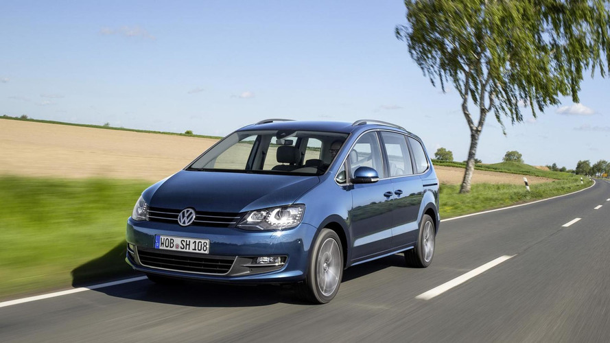 Volkswagen Sharan facelift starts at €32,000 in Germany