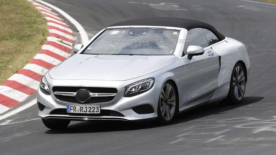 Mercedes-Benz S-Class Cabriolet returns in massive spy photo gallery