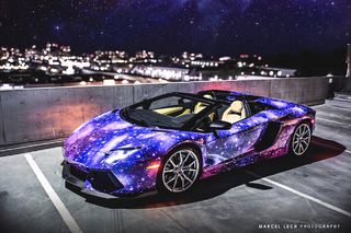 Lamborghini Aventador Galaxy Would Make Neil DeGrasse Tyson Blush