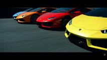 Lamborghini Huracan reklamı