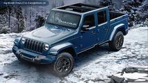 2018 Jeep Wrangler renderings by JLWranglerForums