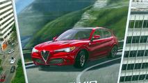 Alfa Romeo Stelvio Quadrifoglio mural