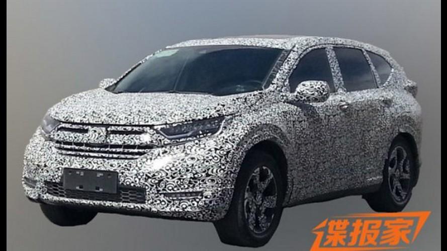 Flagra: próximo Honda CR-V é pego novamente em testes, desta vez na China