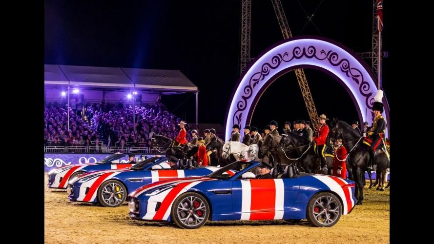 Jaguar Land Rover leva o bolo para a festa de 90 anos da Rainha Elizabeth II