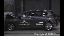 Fiat Tipo recebe 4 estrelas no EuroNCAP com pacote opcional de segurança