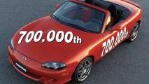 Mazda MX-5 production number 700,000