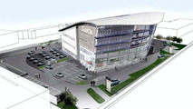 World's Largest Audi Center Illustration