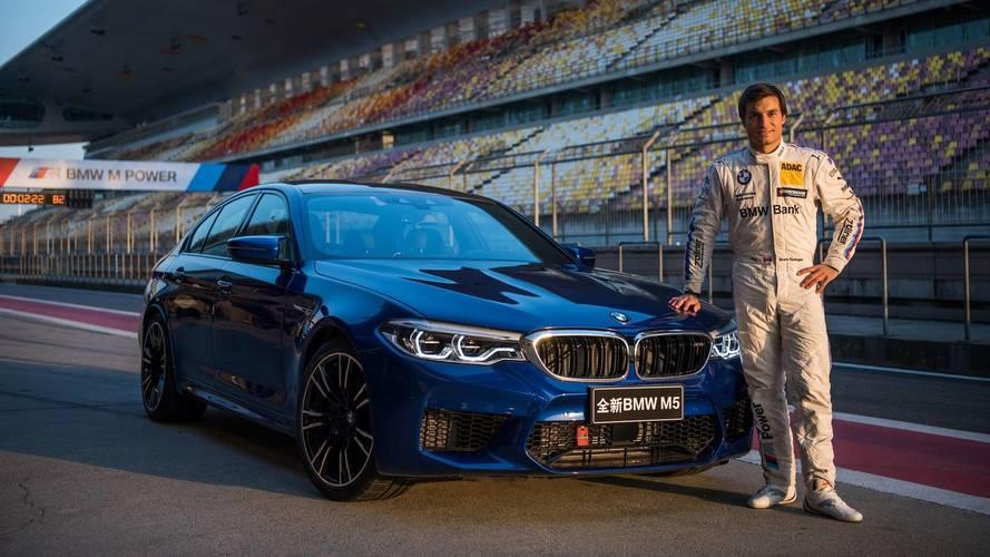 2018 BMW M5 on Shanghai International Circuit