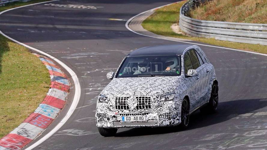 2020 Mercedes-AMG GLE 63 Spy Photos
