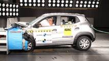 Renault Kwid crash-test Latin NCAP