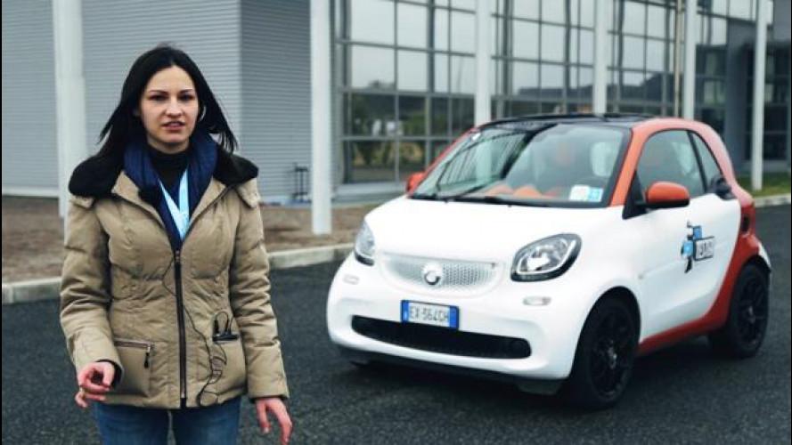 La smart fortwo secondo lo YouTester Daniela Sisinni