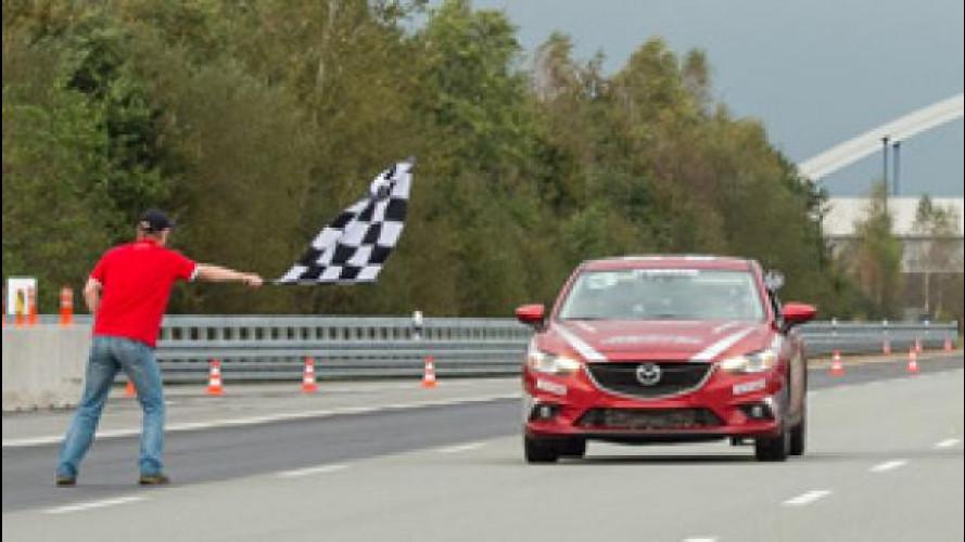 Mazda, record di velocità in 24 ore con il diesel Skyactiv