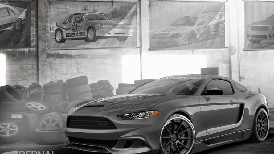 2015 Saleen Mustang digitally imagined