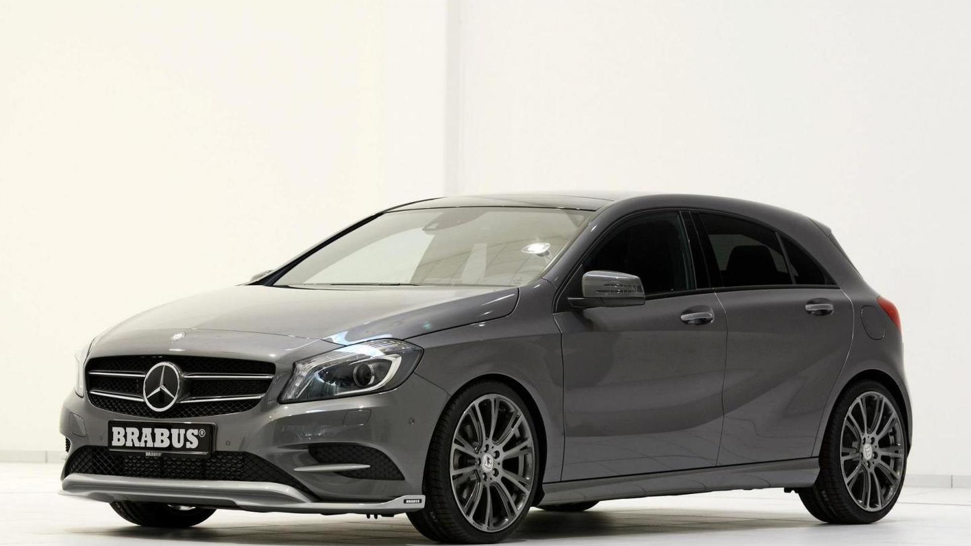 mercedes benz a200 cdi modified by brabus. Black Bedroom Furniture Sets. Home Design Ideas