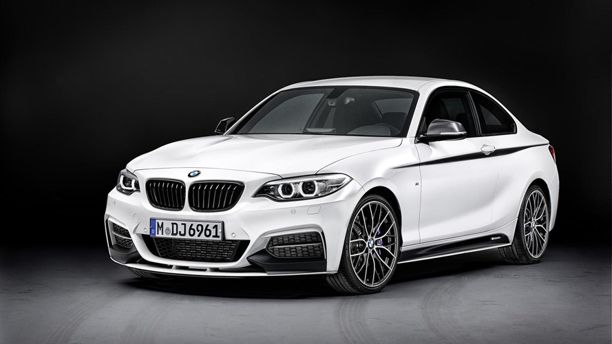 2014 BMW 2-Series Coupe receives M Performance parts